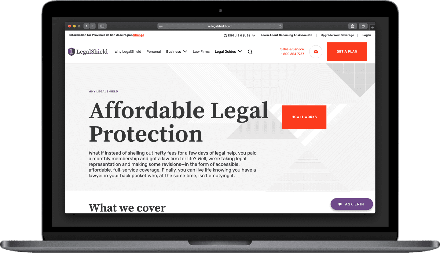 Stateside project | LegalShield Team Augmentation device #1